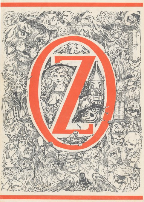 Glinda of Oz inside cover 1